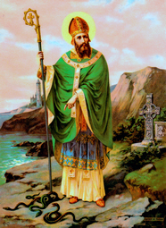 Saint Patrick, Bishop, Apostle of Ireland