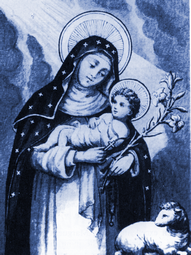 Resultado de imagem para Santa Inês de Montepulciano
