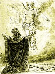 Resultado de imagem para apparition saint michel mont gargan