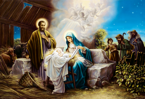 The Nativity of Our Lord ODM pinxit
