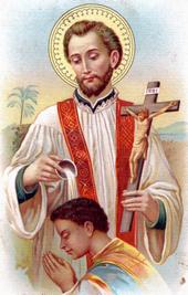 Résultats de recherche d'images pour «Saint François Xavier, prêtre»