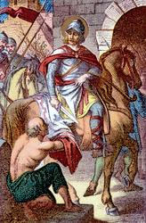 Saint Martin : évêque de Tours et Apôtre des Gaules (315-397)