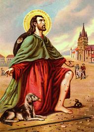 Saint Roch, Pèlerin Predestination